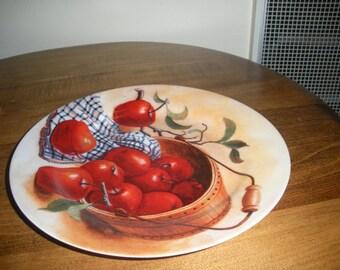 Apple Decorators Plate