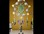 Nature's Healing - Magical Dreamcatcher - Gemstone, Wood & Silver