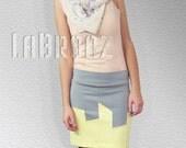 Spring City Skyline Skirt