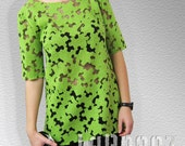 SALE  Wool Puzzle Top