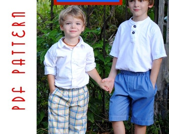 PDF Sewing Pattern: The Mud Puddle Splashers (Instant Download)