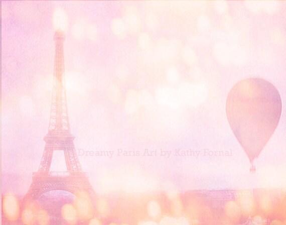 Paris Eiffel Tower Photography Pink Paris Photography Dreamy Pink
