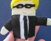 Michael Caine Finger Puppet