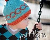 make your own Mod Circle Hat (DIGITAL KNITTING PATTERN) infant toddler child