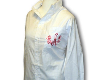 Monogrammed Oxford Shirt