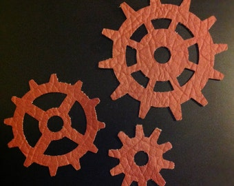Three Die Cut Gears