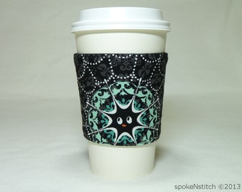 Coffee Sleeve Spiderweb Cup Cozy