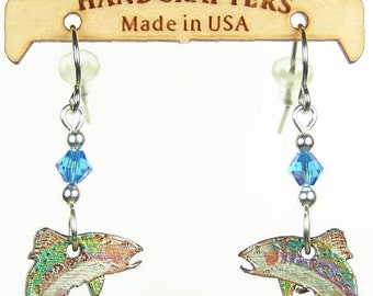 946 TROUT EARRINGS