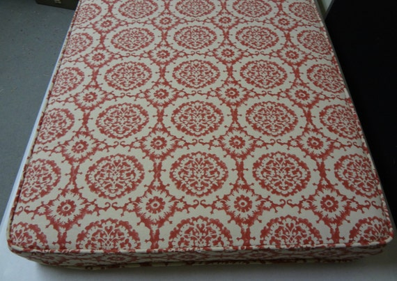 Items Similar To Bench Cushion Custom 68 Quot X 24 Quot X 3 Quot Use Your Own Fabric Includes Double