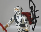 1980's GI Joe Action Figure, Storm Shadow - Cobra Ninja Warrior Complete with All Original Accessories - 80's GI Joe Toy, Collectible