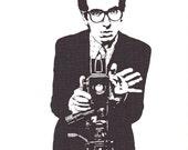 Elvis Costello - 8 x 10 Giclee Print