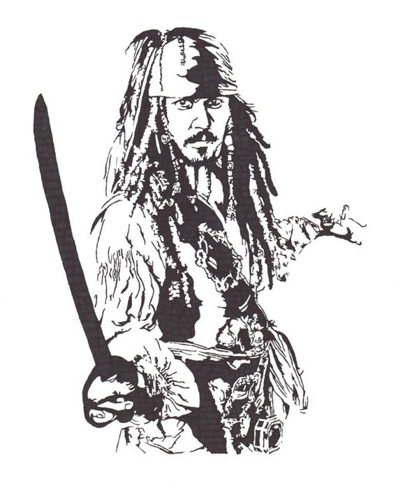 Johnny Depp - Captain Jack Sparrow