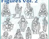 Religious Figures Vol. 2 JPEG Clipart