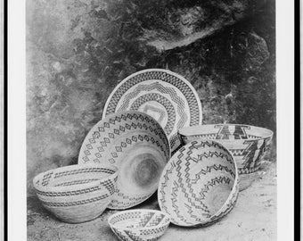 Native American Image of baskets