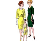60s RODRIGUEZ Box Jacket Blouse Skirt Pattern Vogue Couturier Design 1193 Vintage Sewing Pattern Size 12 Bust 32 UNUSED FF with Label