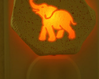 Good Luck Elephant   1/3 watt small night light