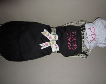Custom Adult Personalized Apron with Adult Chef Hat