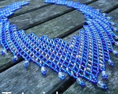 Staircase Necklace Beadwork Pattern/Tutorial - Instant Download