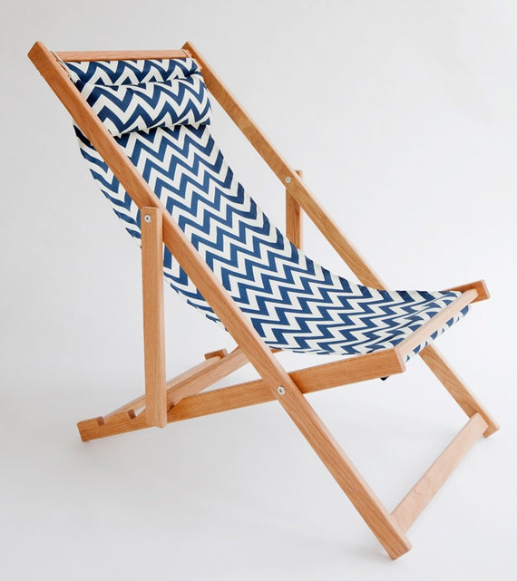Outdoor Patio Furniture Vancouver: Huron Deck Chair Sling Chair Handmade Outdoor By