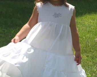 Nanny Etticoat PDF pattern - Ellie Inspired Petticoat dress pattern - sizes 1-12