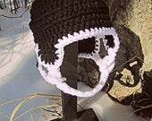 Hockey Helmet Crochet Newborn-12 Months (made to order)
