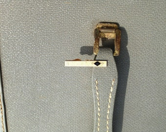Vintage Minimalist Gold and Black Swank Tie Clasp Clip Bar Art Deco Cubist