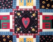 Sweet heart centers craft supplies fabric for quilting sewing gift ideas for pillow wall home & living decor