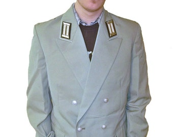 Vintage East German Dress Uniform Jacket - New, Never Issued - Men's Medium