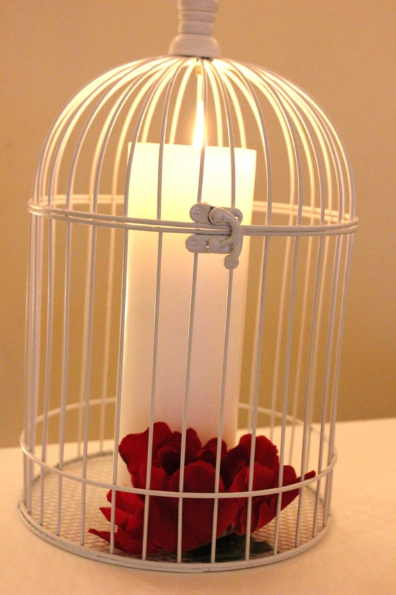 Items similar to white bird cage birdcage metal