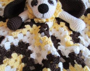 Crochet Pattern Dog Huggy Blanket by Teri Crews instant download PDF format