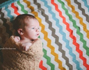 Newborn Blanket Photography Prop - Basket Filler - Layering Blanket - Crochet Baby Blanket - Newborn Photo Prop - Newborn Wrap