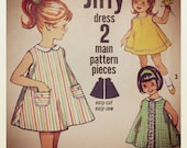 Simplicity 5009 Girls 2pc Jiffy Dress