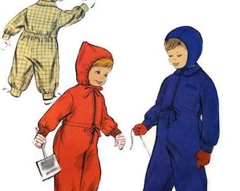 Vintage Vogue 2807 child snowsuit 1957