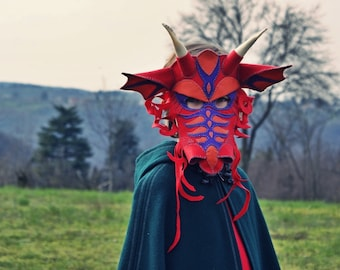 Dragon Mask PDF Pattern