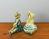 Courting Couple Bookends