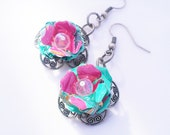 Arizona Tea Upcycled Recycled Earrings Eco Friendly Jewelry Girlfriend Gift Trending Jewelry SALE Jewelry R30