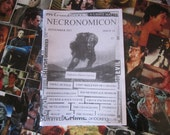 NECRONOMICON 19 fanzine UK horror zine Sept 2011 Troll Hunter retro geek movies films