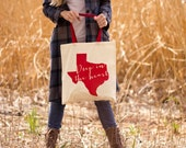 Deep In The Heart of Texas Canvas Tote Bag