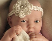 Crochet pattern for Baby Headband, child, adult, flower headband - INSTANT DOWNLOAD .pdf