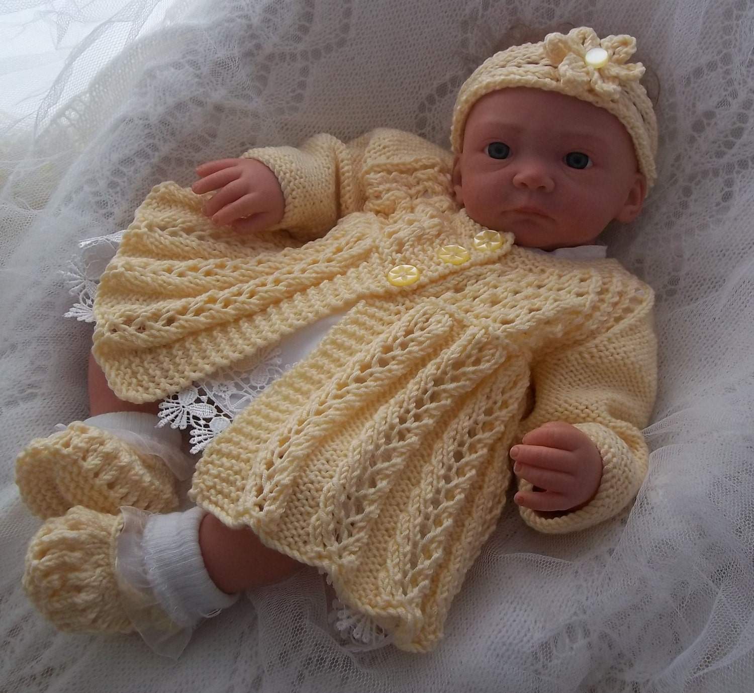 Knitting Patterns To Download For Babies : Baby Knitting Pattern Download Knitting Pattern Baby Girls