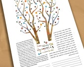 Ketubah - Tree of life In...