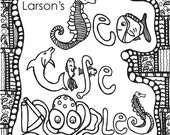 DOWNLOAD -Abstract Doodles Coloring Book 2 (Sea Life)