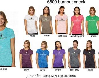 6500 letsplaymusic burnout crew neck