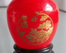 Moonwind Avon Perfume in Chinese Jar, Vintage Avon Collectible, Home Decor, Knick Knack