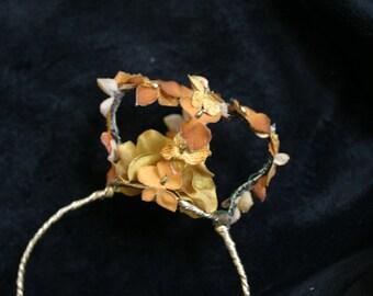 SALE - Goddess of the Fall Mini Crown