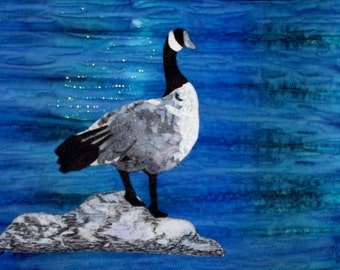 Goose Thread Painted Wall Quilt