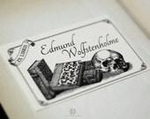 The Eternal Bookworm - Ex Libris (digital file)