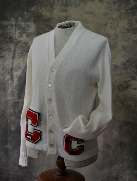 Cornell Letter Sweater 1960s Cornell Varsity Letterman Sweater
