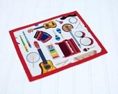 Musical Instrument Chalkboard Mat Reusable Art Toy, Homeschool Writing Mat, Boy or Girl, Unisex Toy