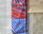 Vera Red White and Blue Sash